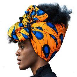 "China Shenbolen African Headwrap Women Traditional Headtie Scarf Turban 100% Cotton Wax 72""x22"" supplier african scarfs suppliers"