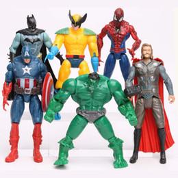 $enCountryForm.capitalKeyWord NZ - Avengers Alliance 2 Hulk Spider-Man Iron Man USA Captain 6 Toy Dolls Action Figures Anime Manga V 002