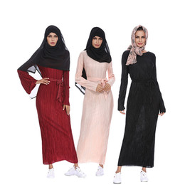 Middle East Muslim Dress Lace Mesh Arab Long Maxi Dress For Woman Muslim Robe Ramadan Muslim Abaya Kaftan 1207 Women's Clothing