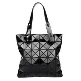 acc919f4b08f Baobao Bags Australia - Women Fashion Folded Bao Bao Bag Hologram Geometry  Handbag Ladies Casual Tote