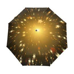 $enCountryForm.capitalKeyWord UK - Creative New Anti Ultraviolet Sun Three Folding Umbrella Men Umbrella Shining Star Umbrella Rain Women