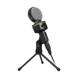 recording laptop 2019 - Portable Wired Stereo 3.5mm Sound Recording Microphone with Trfor Laptop PC cheap recording laptop