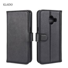 China for galaxy C10 case real leather case cover Flip leather wallet Silicone TPU back shell phone bag pouch Left and right closure suppliers