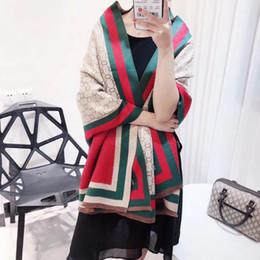 ladies knitted shawl 2019 - new High Quality Spring Winter Fashion Wool Scarf Women Solid Thick Warm Knitted Scarves Pearl Decorated Ladies Shawls c
