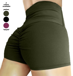 $enCountryForm.capitalKeyWord NZ - Women Sports Short Scrunch Bu Shorts Gym Running Jogging Girl Summer W Yoga Short Leggings High Waisted
