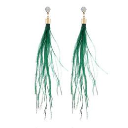 $enCountryForm.capitalKeyWord UK - Vintage Women's Long Tassels Pendant Ear Drop Earrings Jewelry Ornaments Jewelry Gift New Delicate dropship new fashion