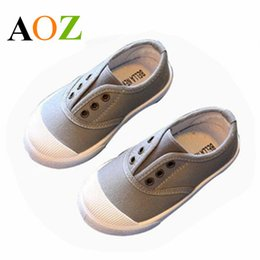Slip Casual Shoes Cheap NZ - Cheap! Kids Shoes Spring Autumn Children Casual Shoes Boys Girls Canvas Shoes Soft Comfortable Slip-on Sneakers TX1137