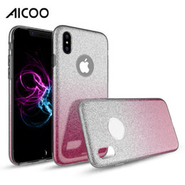 $enCountryForm.capitalKeyWord Canada - Hybrid Gradient Glitter Bling Shiny Cover Colorful Case for iPhone XS MAX XR X 8 7 6 Plus Samsung Note 9 J4 J6 2018 S9 Plus HUAWEI P30 OPP