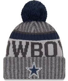 Chinese  New Fashion Unisex Winter Dallas Hats for Men women Knitted Beanie Wool Hat Man Knit Bonnet Beanie Gorro Warm Cap manufacturers