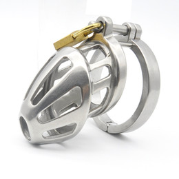 ball lock sex toys 2018 - Male Chastity Devices Cock Ring Chastity Belt Ball Stretcher Penis Ring for Sex Toys for Men Lock Bondage cheap ball loc