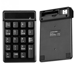$enCountryForm.capitalKeyWord Australia - 2.4GHz Wireless Number USB Numeric Keyboard 19 keys Pad For Laptop PC Black New
