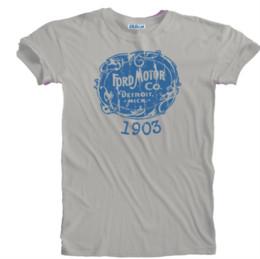 $enCountryForm.capitalKeyWord UK - Vintage 1903 Retro Classic Car Ford Distressed Print Logo T-shirt Sizes S Funny free shipping Unisex Casual