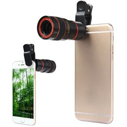 China 8x Zoom Telescope Telephoto Camera Lens for Samsung S6 Note 5 for iphone 6 Plus Mobile Phone cheap mobile zoom lens note suppliers