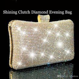 4d6baa623 Bolsas reais on-line-Hot Royal Women's Lady Fashion Swarovski Crystal  Evening Clutch Bag
