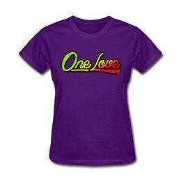 $enCountryForm.capitalKeyWord UK - Women's Tee Ladies Print Tshirt With One Love Art T Shirt Shop For Ladies Red Shirts