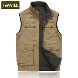 Discount short ripped jeans for men - TAWILL Fashion Men's Ripped Denim Vest Distressed Sleeveless Jeans Jacket For Man Black Waistcoat Plus size M-8XL 9