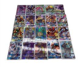 Ex gamEs online shopping - 100PCS Set EX Mega Shine English XY GX trainer GX mega EX Energy EX Mega EX cards Mega cards No repeat Kids Toy Card Game