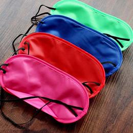 Wholesale 1000Pcs Sleep Mask Natural Sleeping Eye Mask Eyeshade Cover Shade Eye Patch Women Men Soft Portable Blindfold Travel Eyepatch