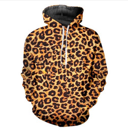$enCountryForm.capitalKeyWord UK - Wholesale -New Fashion Women Men Couples leopard print Funny 3d Print Hooded Sweatshirts Pullover Free Shipping ZLMQ002