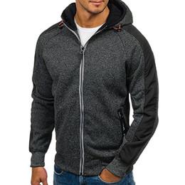 40061839285 Winter Hoodie Male Cardigan 2018 New Long sleeve hoodies men Zipper Sweatshirt  Hoodies Mens Hooded Plus size Coat Jacket