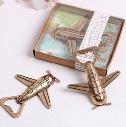 "let adventure begin airplane bottle opener Canada - free shipping 50pcs lot Creative Antique Plane Beer Bottle Opener ""Let the Adventure Begin"" Airplane Bottle Opener Wedding Gif"