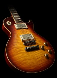 Aged custom guitArs online shopping - Custom Shop Limited Run LPs Duane Allman Aged Heritage Darkburst by Tom Murphy Relic Electric Guitar