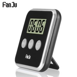 Discount counting tool - FanJu FJ231 Digital Kitchen Timer Cooking Clock LCD Screen with Magnet Count Up Countdown Alarm Kitchen Gadgets Cooking