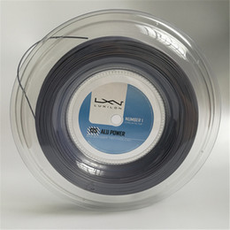 Wholesale High Quality LUXILON Big Banger Alu Power Tennis Racquet String 200m Grey Color Same High Quality As Original Luxilon String