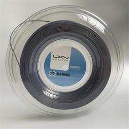 Großhandel Heißer Verkauf Luxilon Big Banger Alu Power Tennis Racquet String 200m graue Farbe wie original