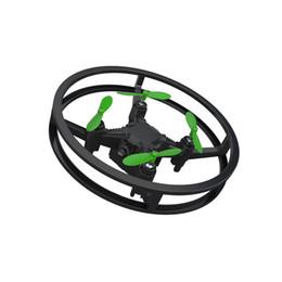 Venta al por mayor de Mini avión teledirigido UAV pequeña resistencia a la caída de cuatro ejes Cuatro ejes aéreos teledirigidos RC aviones 53xg W