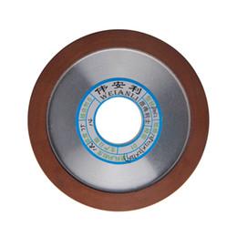 Toptan satış Freeshipping 1 adet Elmas Taşlama Tekerlekler Hipotenüs 150/180/240/320 Öğütme Taşlama Diski 125mm Karbür Freze Kesici PowerTool Için