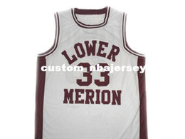 b77266420b13 wholesale Kobe Bryant  33 Lower Merion High School Basketball Jersey  Stitched Custom any number name MEN WOMEN YOUTH BASKETBALL JERSEYS
