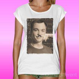 "$enCountryForm.capitalKeyWord Australia - Women's Tee Women's T-shirt "" Sheldon Cooper Bazinga Funny Finger Mustache "" Gift Idea Summer"