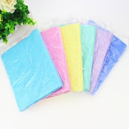 Towels For Dogs NZ - Hot Convenient Pet Cats Dogs Bath Towel Super Absorbent PVA Washable Towels for Small Medium Large FP8 MY2218
