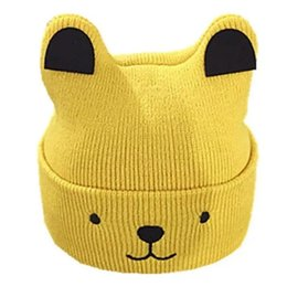 $enCountryForm.capitalKeyWord UK - Baby cap 0-3-6-12 months autumn winter new baby boy girl cap 1-2 years old children's woollen cap keeps warm
