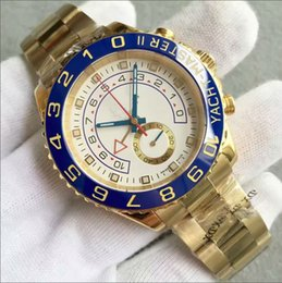 Discount jf watches - Luxury watch yacht watch gold JF Bezel Mens steel band swiss Movement men 40mm for male watch