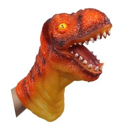 $enCountryForm.capitalKeyWord UK - Artificial Dinosaur Animal head pvc doll fit hand Model Cute Animals children Toys Hobbies Kids Plastic animals action Figures Toy baby gift