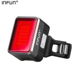 $enCountryForm.capitalKeyWord NZ - INFUN Bicycle Rear Light Cycling Automatic Brake Induction Taillight MTB USB Charge Breathable LED Flashlight Bike Safety Lamp Y1892709
