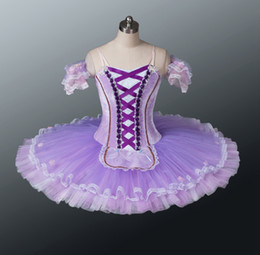 tutus women NZ - Purple Lilac Professional Ballet Tutu Women Nutcracker Tutus Custom Made Adult Classical platter tutu
