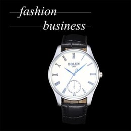 $enCountryForm.capitalKeyWord Australia - Men's Women's Business Quartz Wristwatches Leather Strap Roman Digits Silver Dial Male Hand Wrist Watch Orologi Uomo Classici