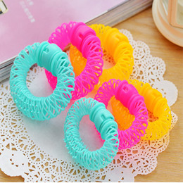 Diy Curls Hair Rollers Australia - 40PCS Hair Styling Roller Hairdress Magic Bendy Curler Spiral Curls DIY Small Size Women Hair Accessories Curlers Soft