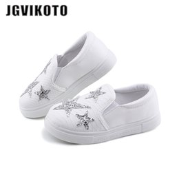 $enCountryForm.capitalKeyWord NZ - JGVIKOTO New Autumn Kids Shoes Fashion Casual Sneakers For Boys Girls Toddler Children Sports Running Shoes Rhinestone Stars