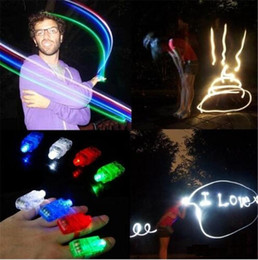 laser lights for kids UK - Hot Sale 1000PCS lot Led Finger Ring Laser Beam Torch Balloon Light Blue Favors And Gifts Navidad Hot Selling for Decoration TO342