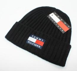 Cashmere beanies online shopping - 2018 New luxury brand winter Hat Skullies Beanies Men Women Knitted Warm Hat Winter Caps Mask Balaclava Bonnet Cap Cotton Beanies Hats