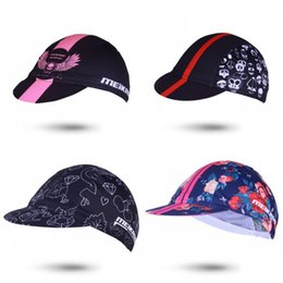 Short head capS online shopping - Bike Cloth Hats Rose Skull Head Geometric  Pattern Short Eaves 143642fb82b