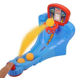 Children eduCation games online shopping - Interaction Toys Finger Ejection Launching Pad Desktop Games Basketball Court Parent Child Learning Education Game Shooting Toy bl W