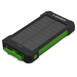 $enCountryForm.capitalKeyWord Australia - Solar Charger 10000mAh Portable Solar Power Bank for iPhone 4s 5 SE 6 7 iPhone 8 iPad Air iPad Mini Samsung HTC LG Sony Nokia.