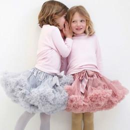$enCountryForm.capitalKeyWord NZ - Baby Girls Tutu Skirt New Ballerina Pettiskirt Layer Fluffy Children Ballet Skirts For Party Dance Princess Girl Tulle Miniskirt