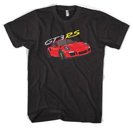 Großhandel Hohe Qualität Top T-Shirt 100% Baumwolle Herren Neuheit GT3 RS T-Shirt, 911, Turbo, Nürburgring, Deutschland, Rennwagen, Trackday, Rennen