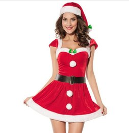 $enCountryForm.capitalKeyWord NZ - Christmas Halloween Costumes European and American Christmas Clothes Sexy Lingerie New Christmas Clothes